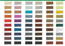 carte coloris waterstain